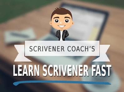 Learn Scrivener Fast - Training