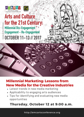 Millennial Marketing: Lessons from New Media for the Creative Industries (Rex Nettleford Arts Conference)